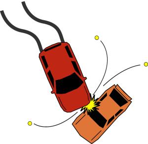 Dopravní nehoda - zpráva o nehodě
